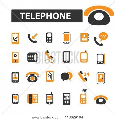 telephone icons, telephone logo, smartphone icons vector, smartphone flat illustration concept, smartphone infographics elements isolated on white background, smartphone logo, smartphone symbols set