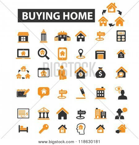 estate icons, estate logo, real estate icons vector, real estate flat illustration concept, real estate infographics elements isolated on white background, real estate logo, real estate symbols set