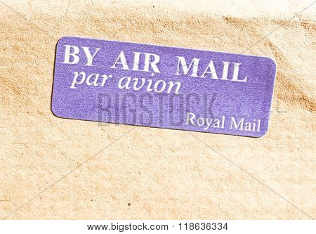 Airmail Picture Vintage