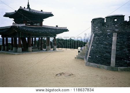 Pavilion at the Hwaseong Fortress