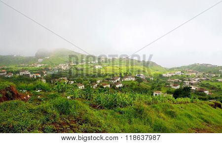 Fog Engulfed City Of Nova Sintra
