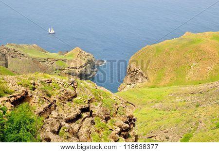 Bay Between Cliff