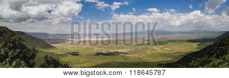 Full View Of The Ngorongoro Crater