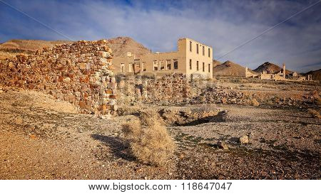 Rhyolite Ghost Town Buildings