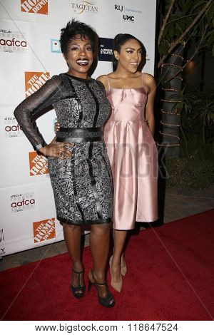 LOS ANGELES - FEB 10:  Sheryl Lee Ralph, Ivy-Victoria Maurice at the African American Film Critics Association 7th Annual Awards at the Taglyan Complex on February 10, 2016 in Los Angeles, CA