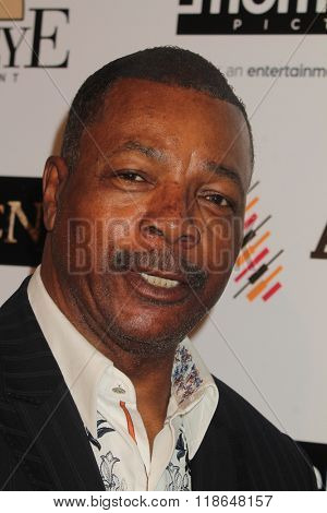 LOS ANGELES - FEB 16:  Carl Weathers at the Forsaken Los Angeles Special Screening at the Autry Museum of the American West on February 16, 2016 in Los Angeles, CA
