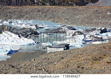 Tasman Glacier Near My Cook