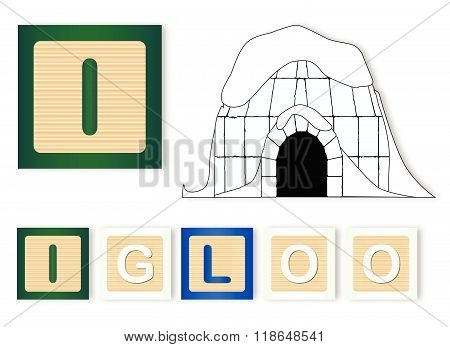 I Is For Igloo