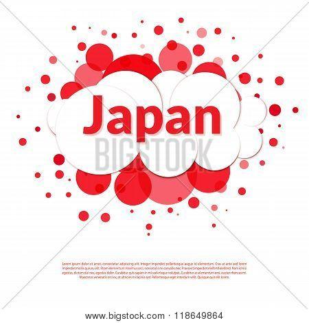 Japan Flag Banner