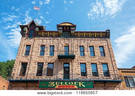 Bullock Hotel Facade