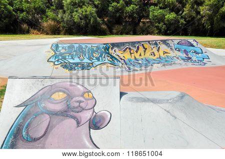 Spearwood Skate Park: Urban Art