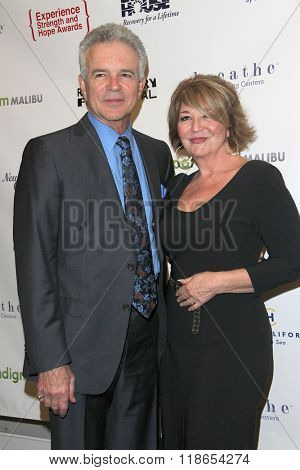 Tony Denison and Elizabeth Edwards arrives at the