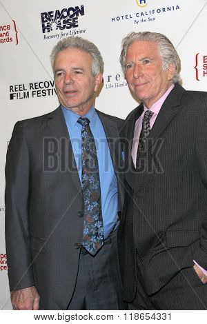 Tony Denison and Leonard Lee Buschel arrive at the