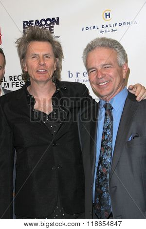 John Taylor and Tony Denison arrives at the