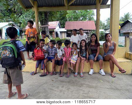 Pupils of Mabini Elementary School