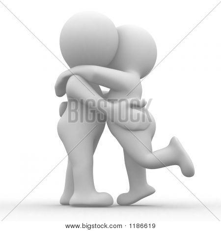 Kiss und hug