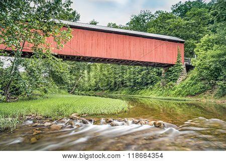 Below Hune Covered Bridge