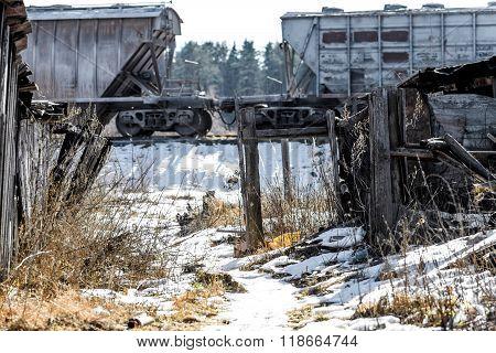 Railway In Countryside