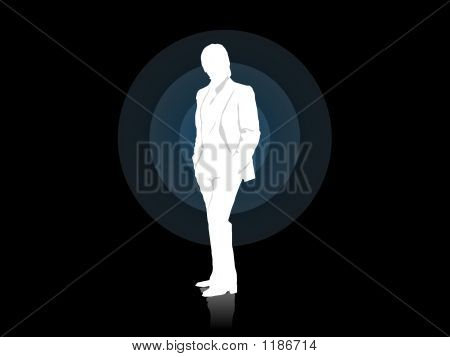 Businessman Alone