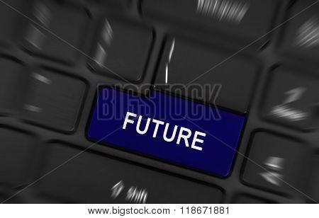 Laptop Button - Future