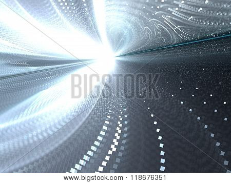 Abstract motion blur background digitally generated image