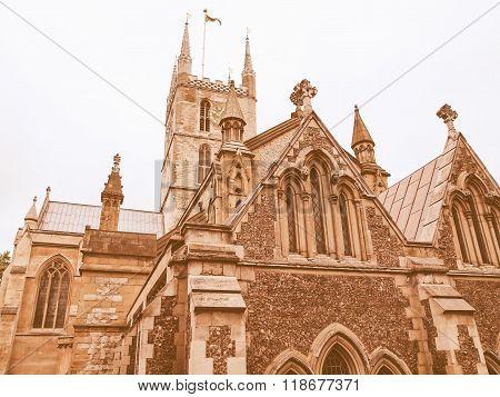 Southwark Cathedral, London Vintage