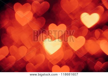 heart shape background photo red color
