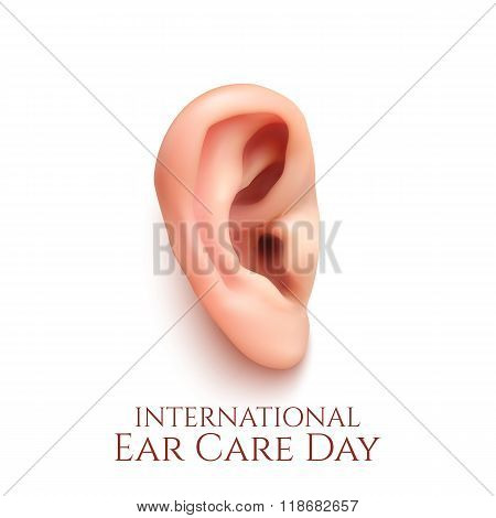 International ear care day.