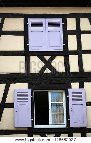 Windows In Colmar House