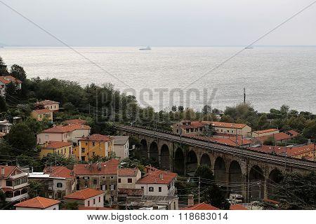 Splendid Urban View Of Amalfi