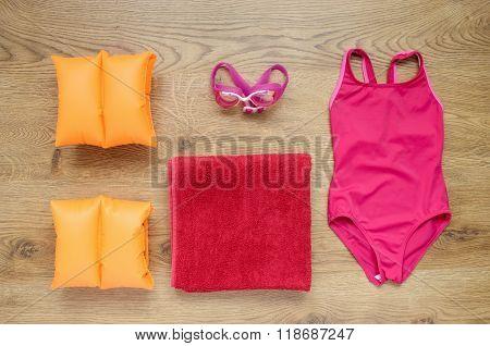 Little Girl's Beach Accessories