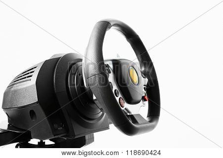 racing wheel for driving simulator