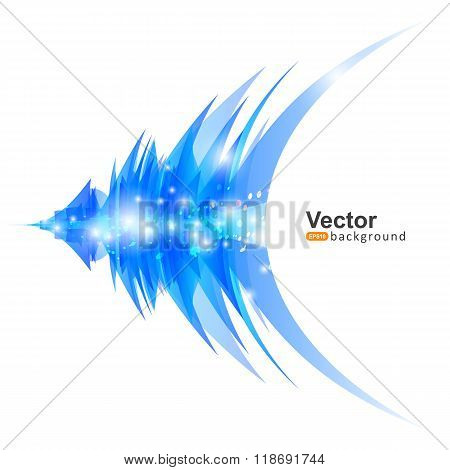 Vector Lines With The Effects