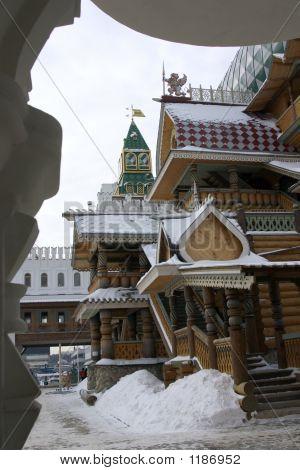 Russische Gebäude.