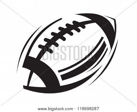 black Football icon