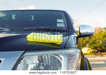 Microfiber Car Shine