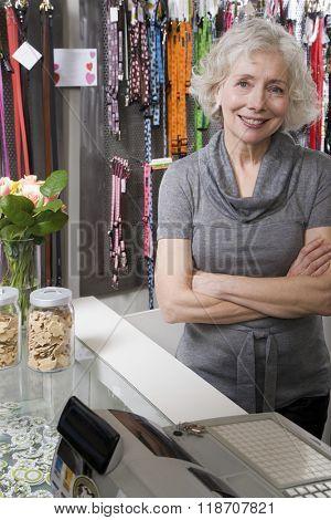 Pet shop owner