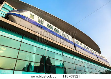 Monorail Station In Dubai
