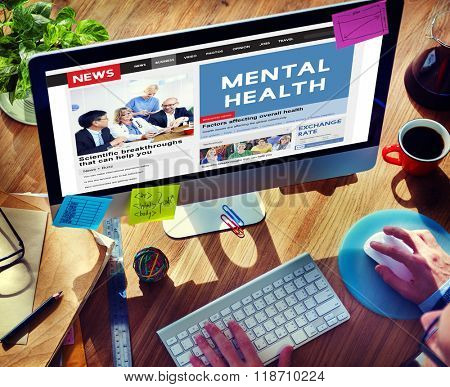 Mental Health Psychological Psychology Condition Concept