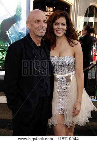 Martin Campbell and Sol E. Romero at the Los Angeles Premiere of
