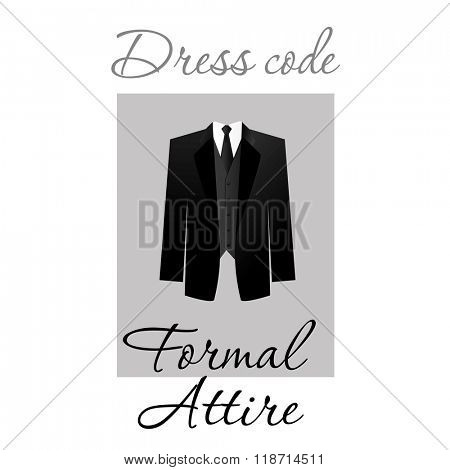 Dress code. Options. Official dress for events. Dress.