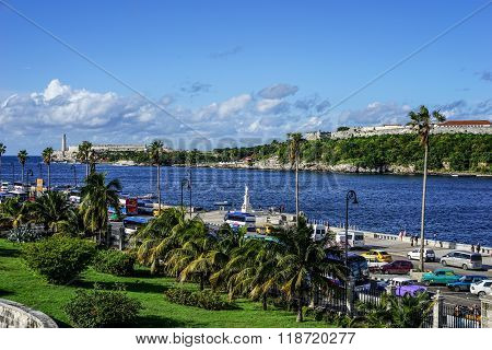 View Over Havana Harbor, Cuba