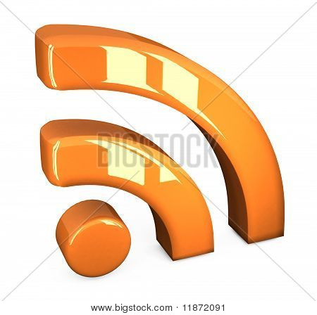 orange rss symbol