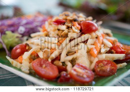 Helianthus Tuberosus Spicy Salad Healthy