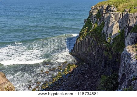 Cliffs and rocks
