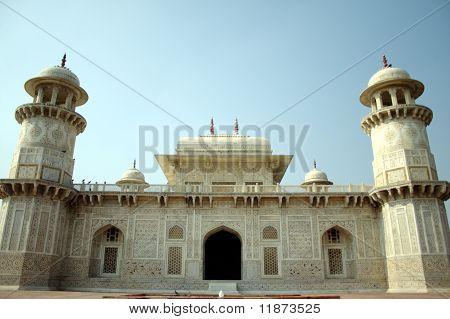 Tomb of I'tmad-ud-Daula at Agra.