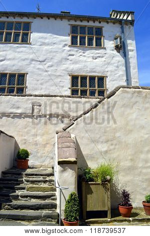 The historical Plas Mawr an Elizabethan townhouse in Conwy