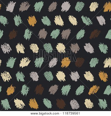 Vector Seamless Pattern Witch Sketch Pastel Texture
