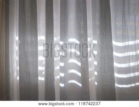 Sunlight Through Blinds