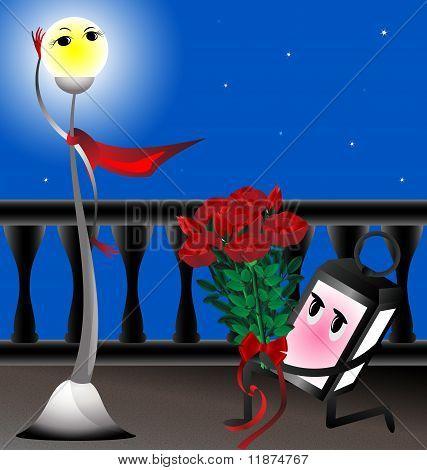 lamp in love